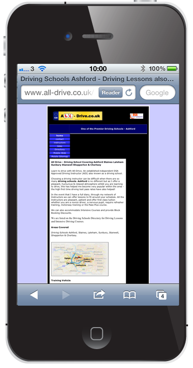 All Drive Main Website